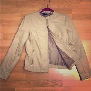 Uniqlo leather jacket